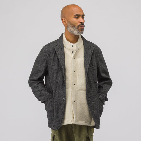 Engineered Garments Bedford Jacket in Grey Homespun Wool - Notre