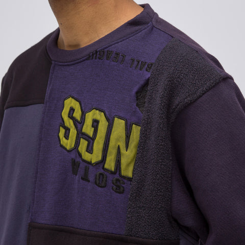 Longjourney Nash Sweatshirt in Dark Purple - Notre