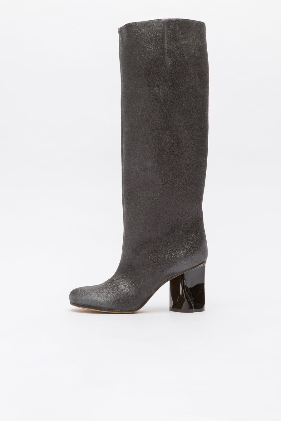 Maison Margiela Glitter Boot in Black - Notre