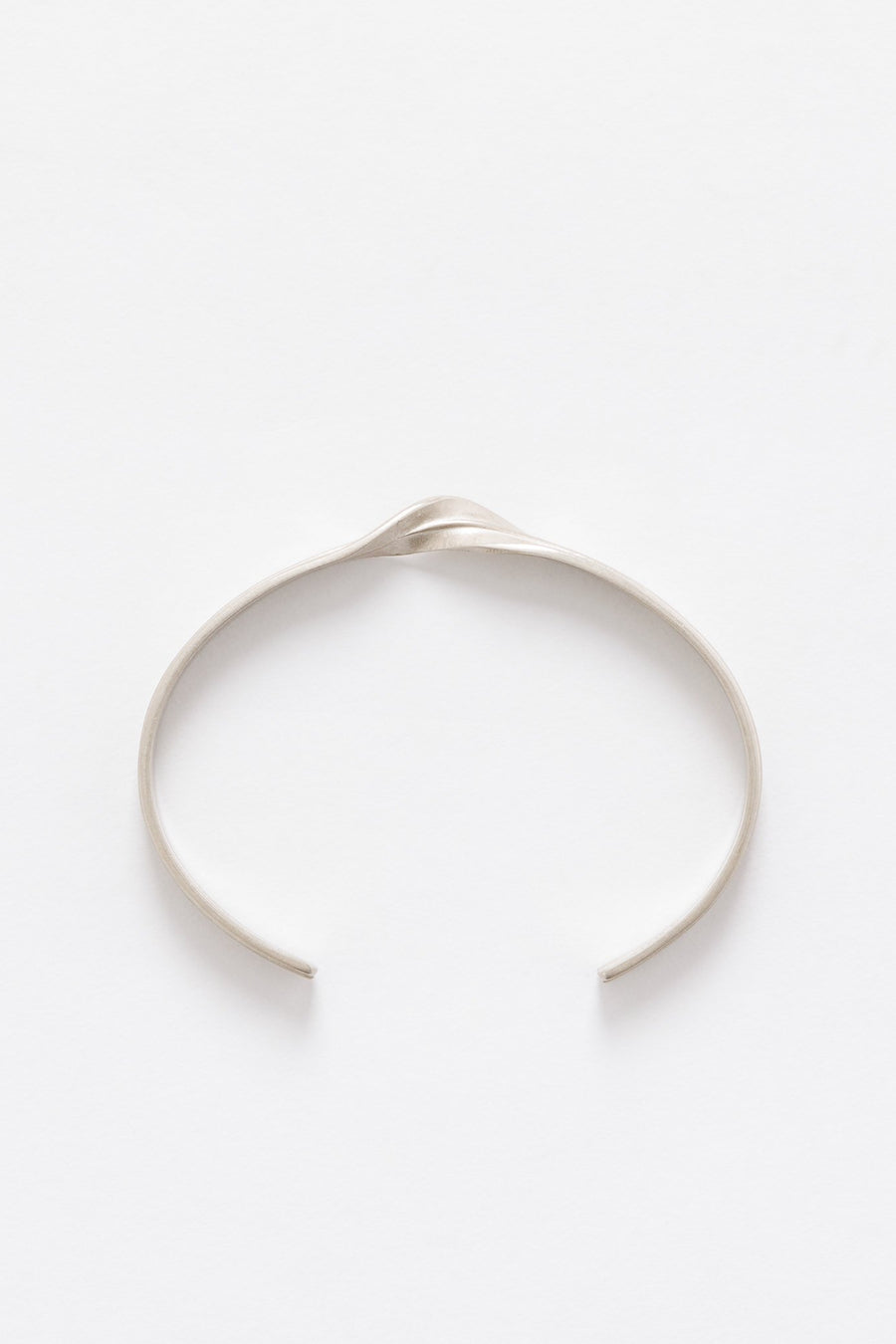Maison Margiela Twisted Bracelet in Silver - Notre