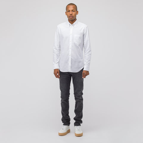 Maison Margiela Button-Down Shirt in White - Notre
