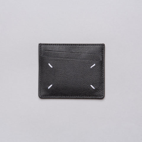 Maison Margiela Calf Leather Cardholder in  Black - Notre