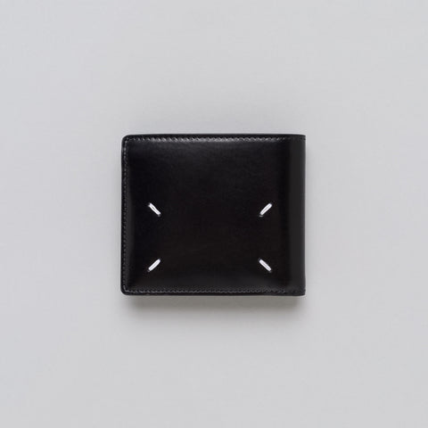 Maison Margiela Calfskin Wallet in Black - Notre