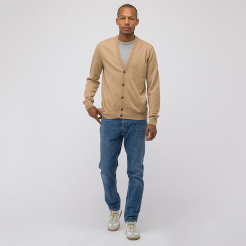 Maison Margiela Knit Cardigan in Tan - Notre