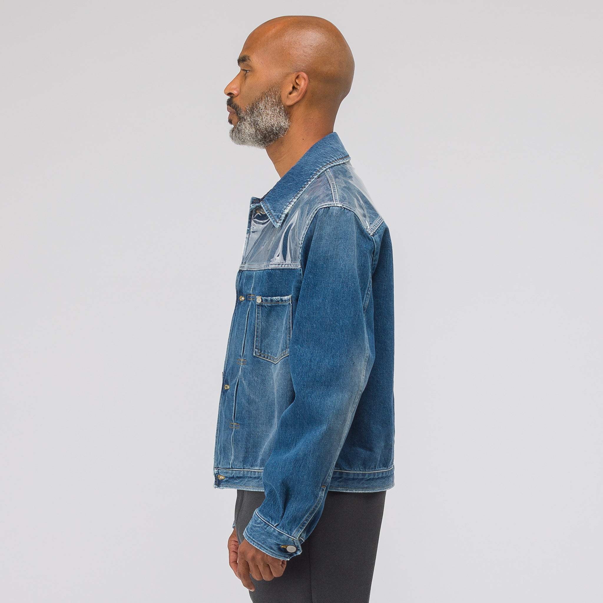 Denim Jacket in Indigo