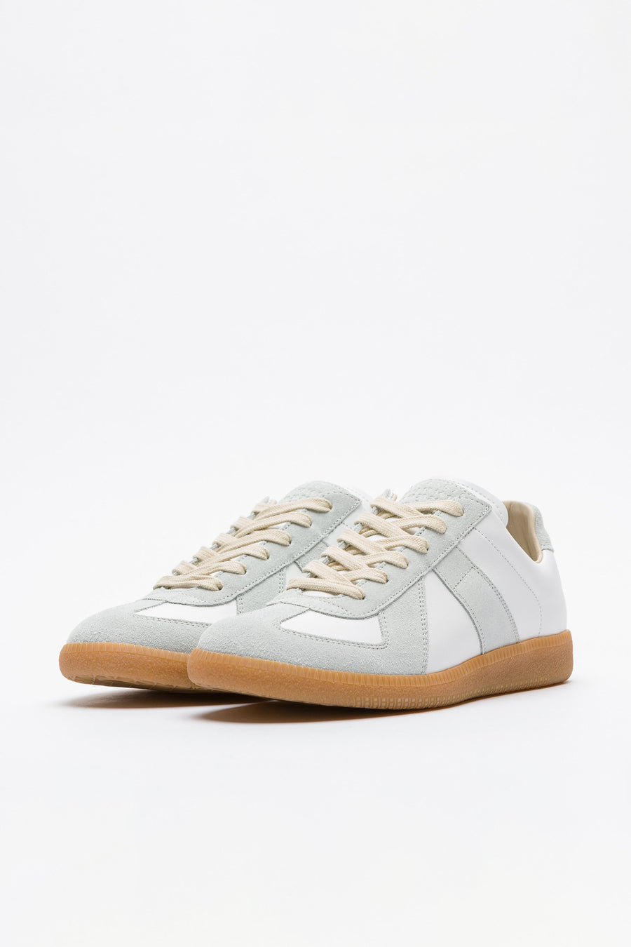 Maison Margiela Replica Sneaker in Grey/White/Gum - Notre