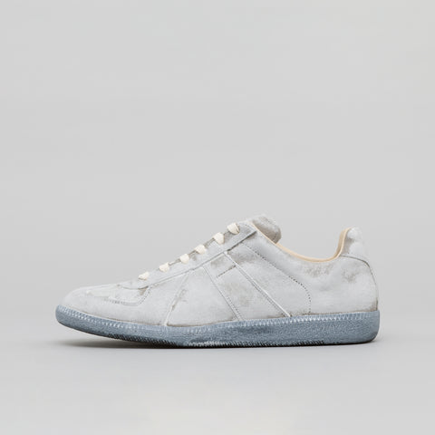 Maison Margiela Replica Sneaker in Painted White Leather - Notre