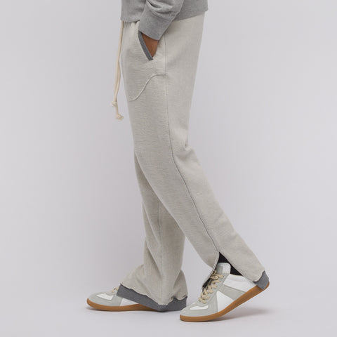 Maison Margiela Reverse Sweatpants in Grey Melange - Notre