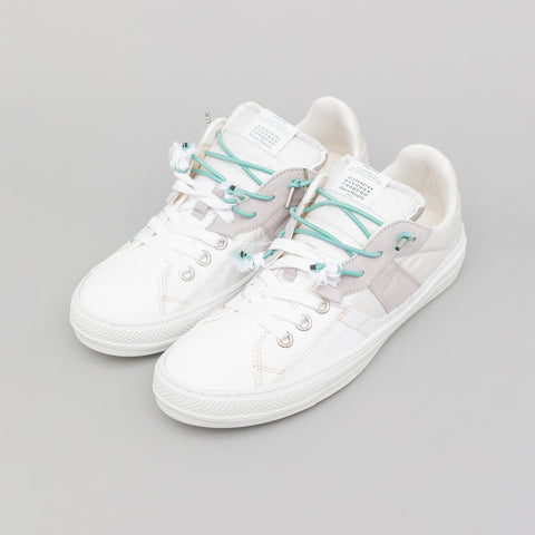 Maison Margiela Evolution Low Top Sneaker in White - Notre