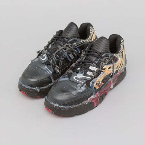 Maison Margiela Fusion Low in Black/Gold/Burgundy - Notre