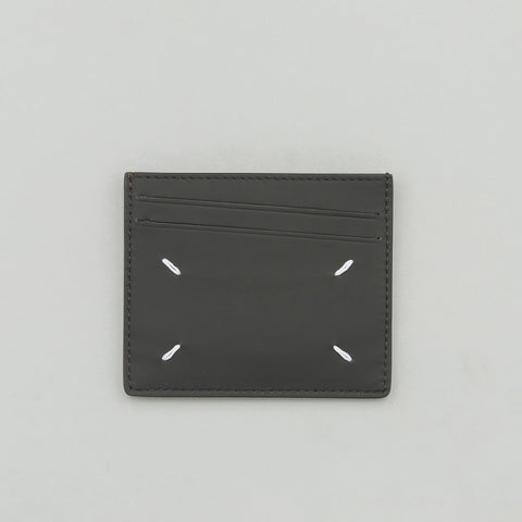 Maison Margiela Cardholder in Black/Tan - Notre