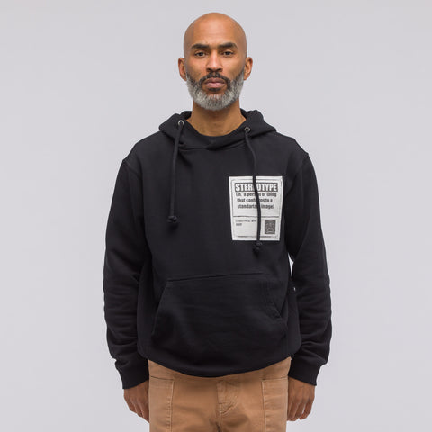 Maison Margiela Stereotypical Hoodie in Black - Notre