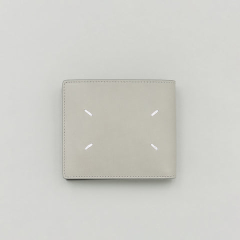 Maison Margiela Calfskin Leather Wallet in Grey - Notre