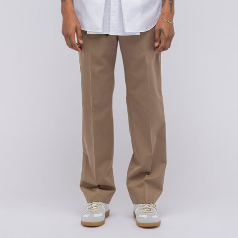 Maison Margiela Wool/Cotton Gabardine Trouser in Beige - Notre