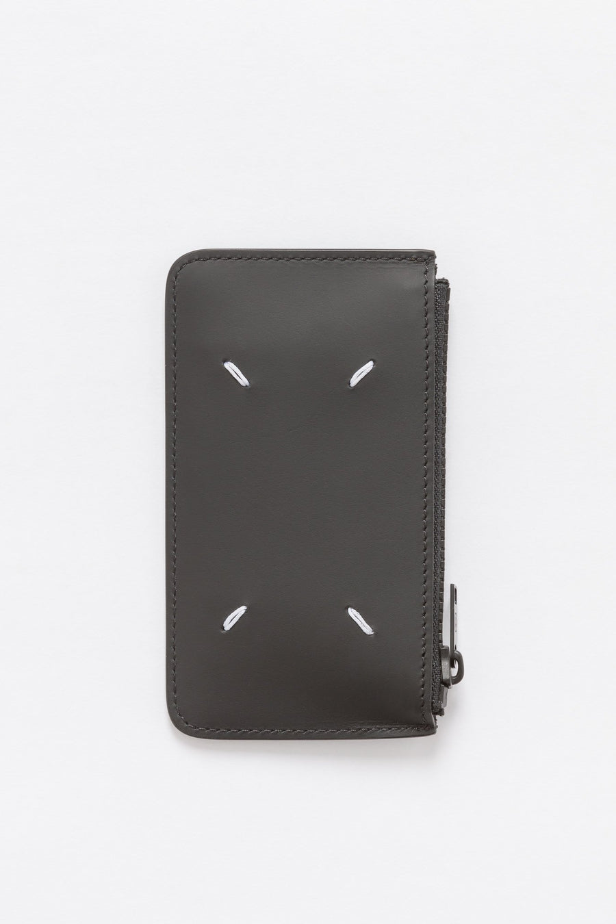 Maison Margiela Zip Wallet in Black - Notre