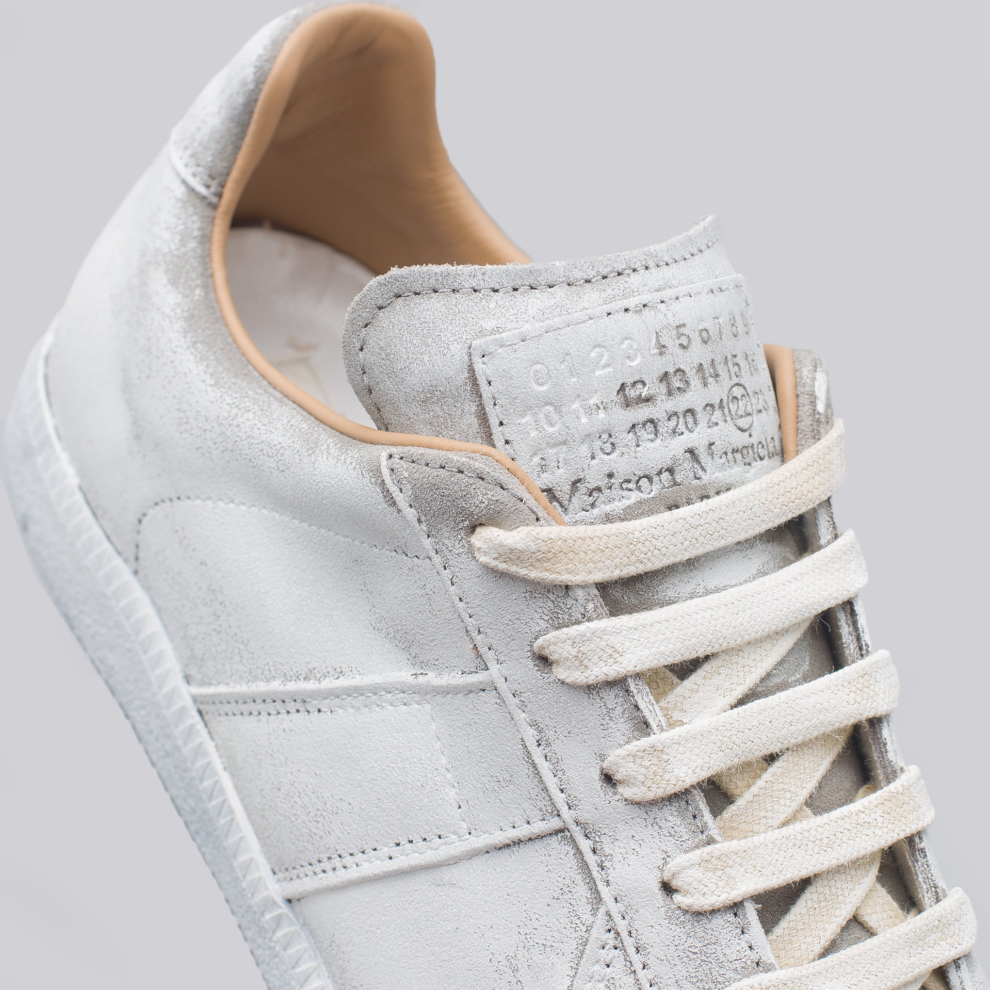 White Icons Replica Low Top in White