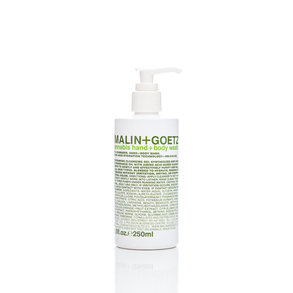 malin+goetz Cannabis Hand+Body Wash 8.5 oz