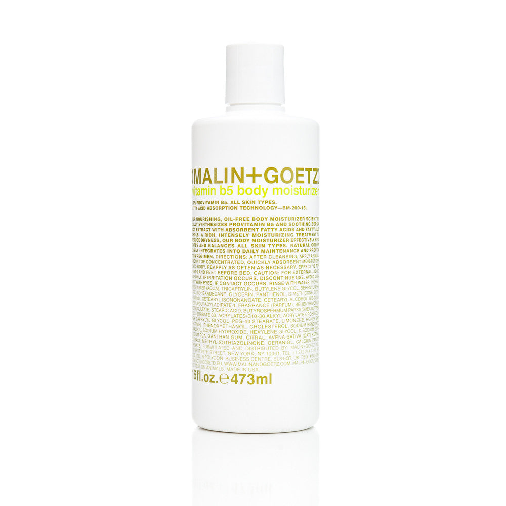 Malin+Goetz Vitamin B5 Body Moisturizer 16oz.