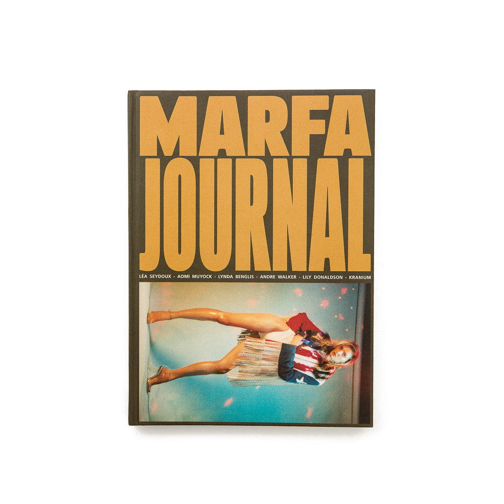 Marfa Journal Issue 5 Front Cover