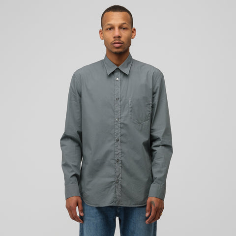 Maison Margiela Button-Up Shirt in Dark Green - Notre