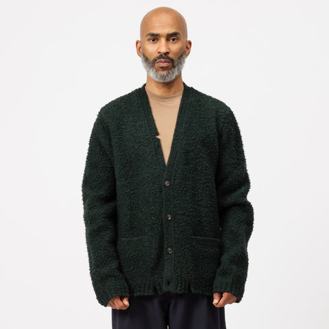 Maison Margiela Cardigan in Forest Green - Notre