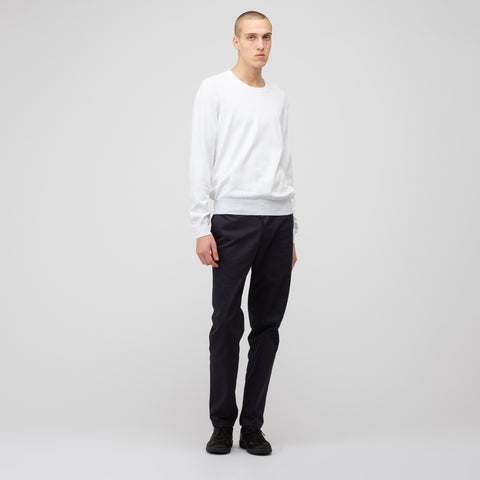 Maison Margiela Crewneck Sweater in White - Notre