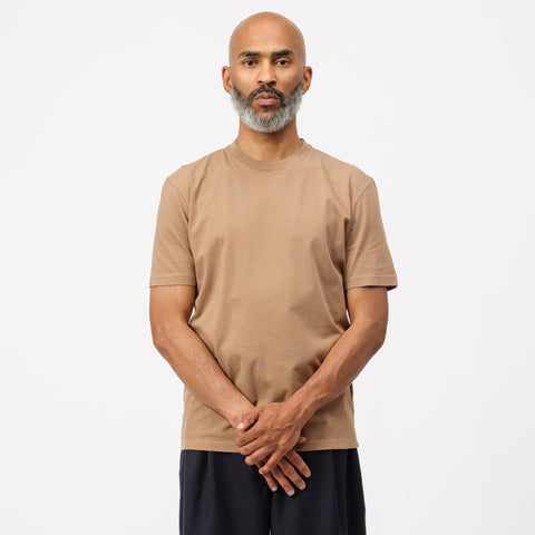 Maison Margiela Crewneck T-Shirt in Brown - Notre