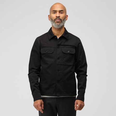 Maison Margiela Type II Cotton Jacket in Black - Notre