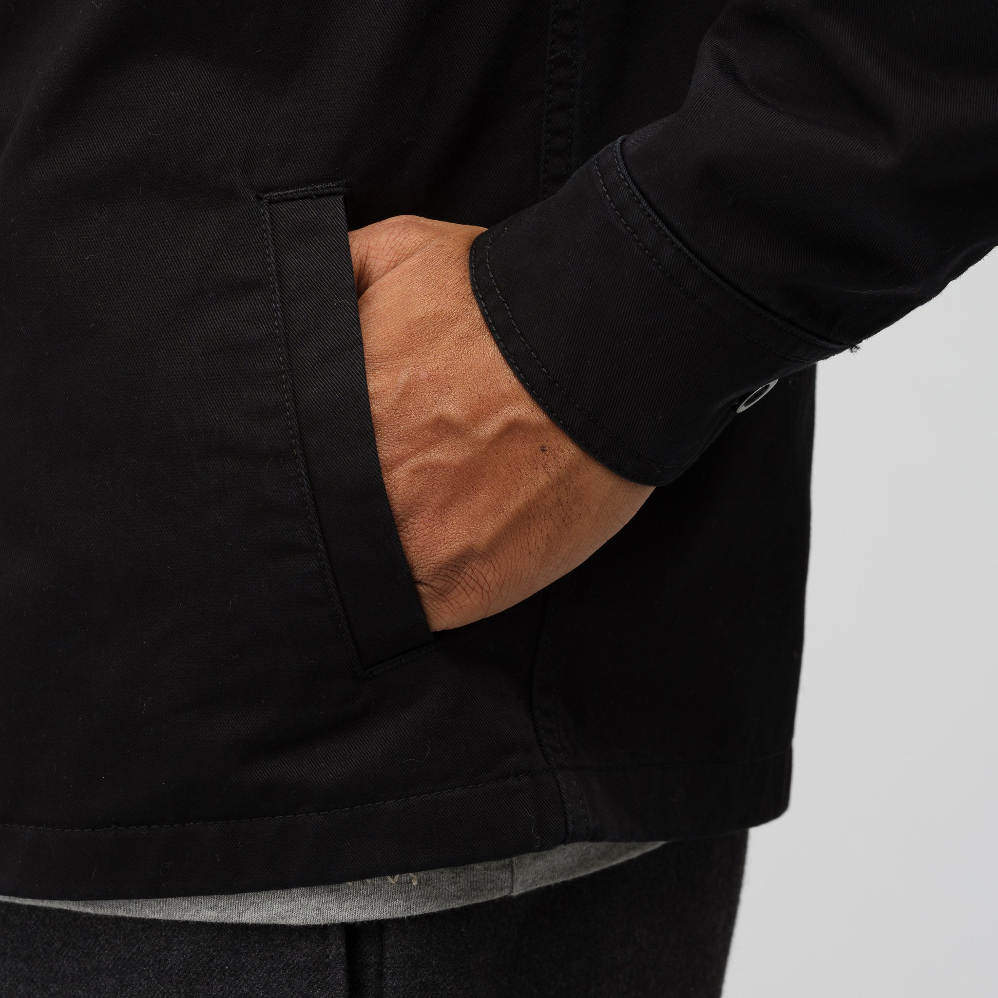 Type II Cotton Jacket in Black