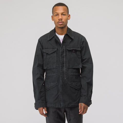 Maison Margiela Cotton Sports Jacket in Black - Notre