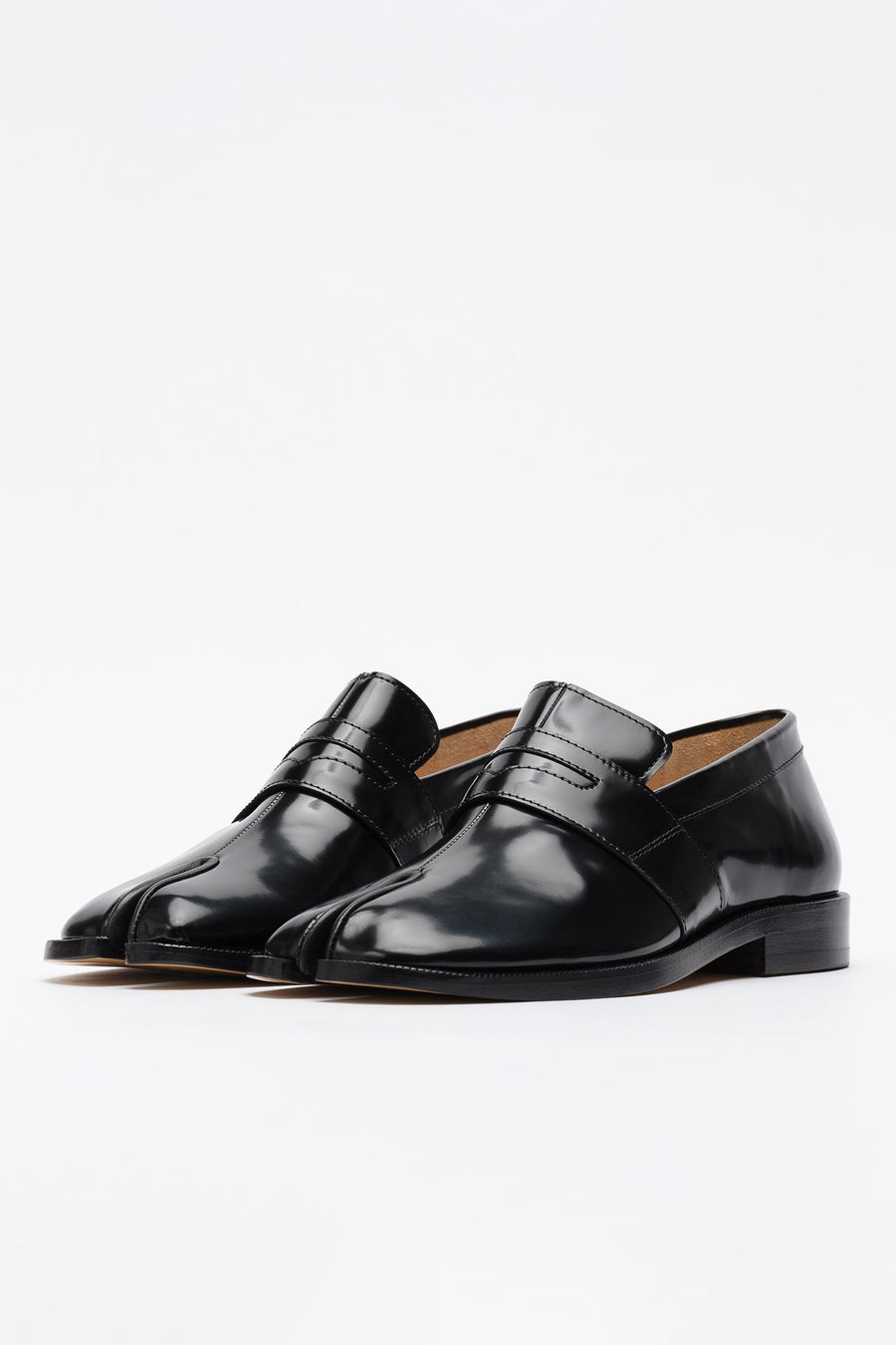 Maison Margiela Tabi Penny Loafer in Black - Notre