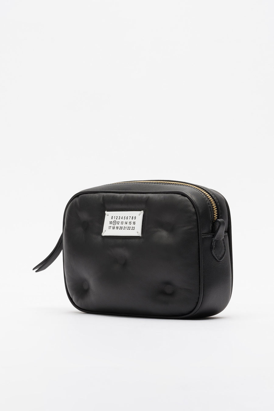 Maison Margiela Mini Tufted Shoulder Bag in Black - Notre
