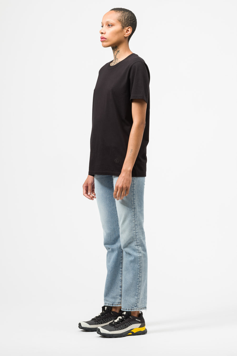 Maison Margiela MM6 T-Shirt in Black - Notre