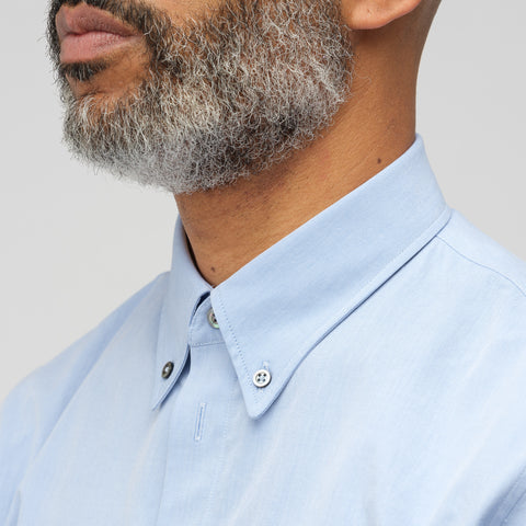 Maison Margiela Oxford Buttondown in Blue - Notre