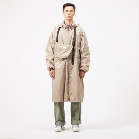 Maison Margiela Packable Windbreaker in Tan - Notre