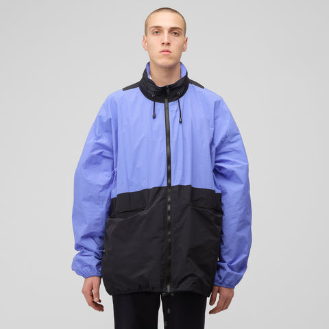 Maison Margiela Ripstop Windbreaker in Blue - Notre