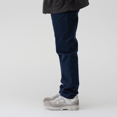 Cotton Trouser in Navy Blue