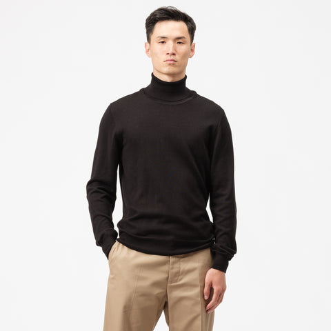 Maison Margiela Turtleneck Sweater in Black - Notre