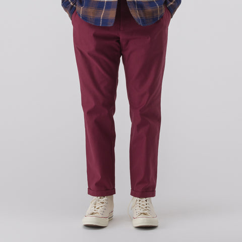 Marni Cropped Pants in Burgundy - Notre