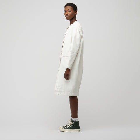 Marni Duster Coat in Lily White - Notre