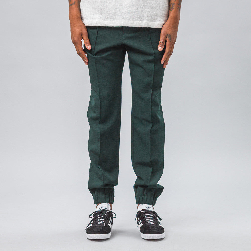 Marni - Lana Vergine Wool Pant in Bottle Green - Notre - 1