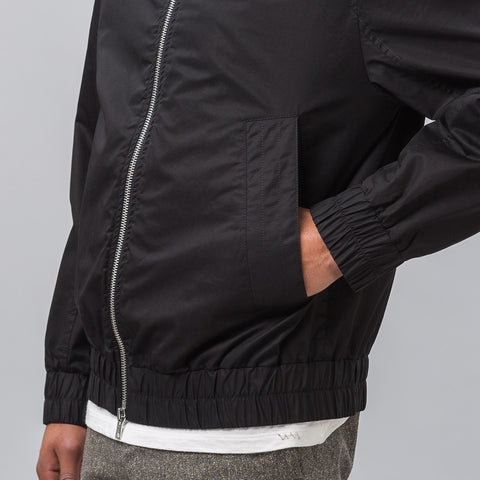 Marni Mock Neck Bomber in Black - Notre