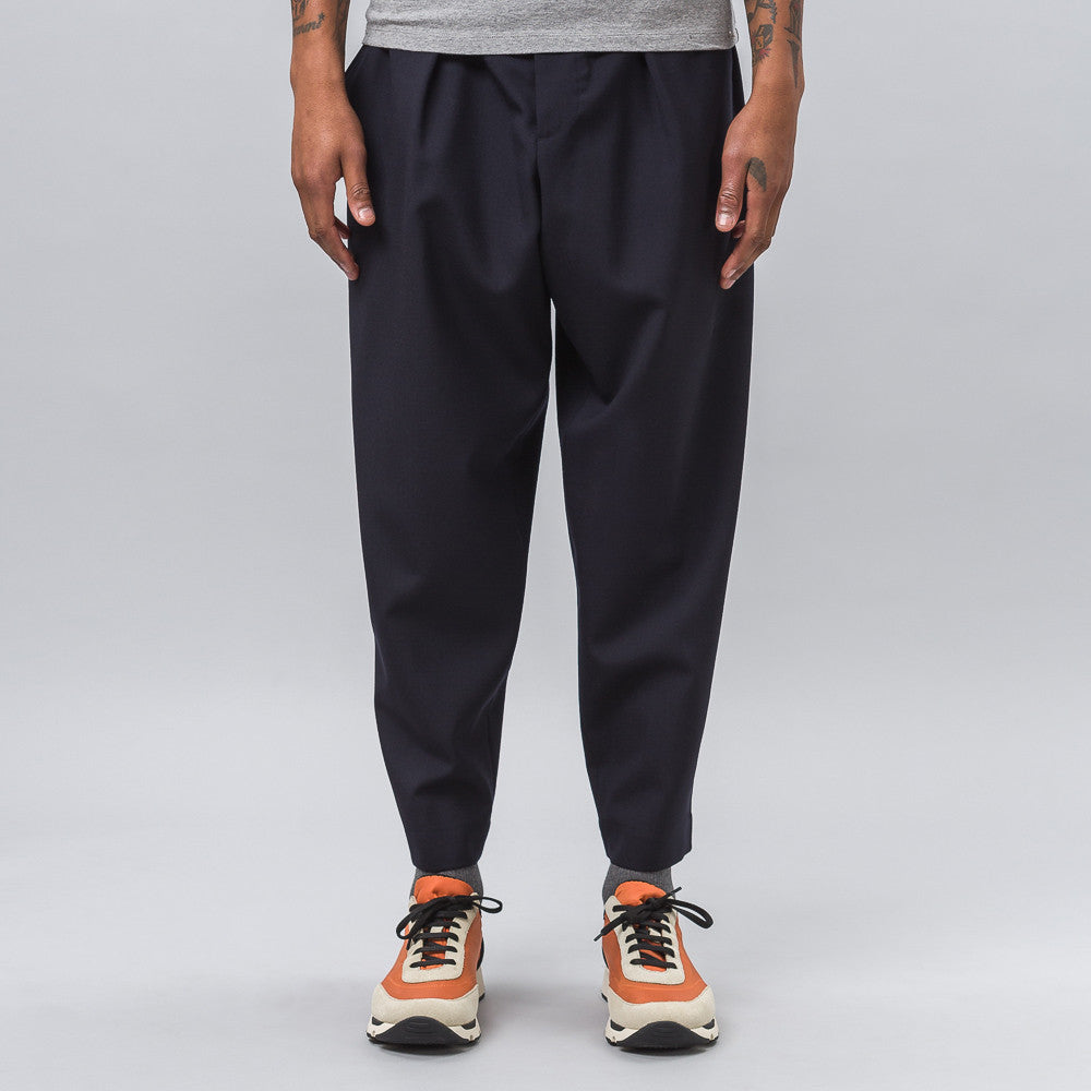 Marni Drawstring Trousers in Navy Notre 1