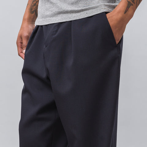 Marni Drawstring Trousers in Navy - Notre