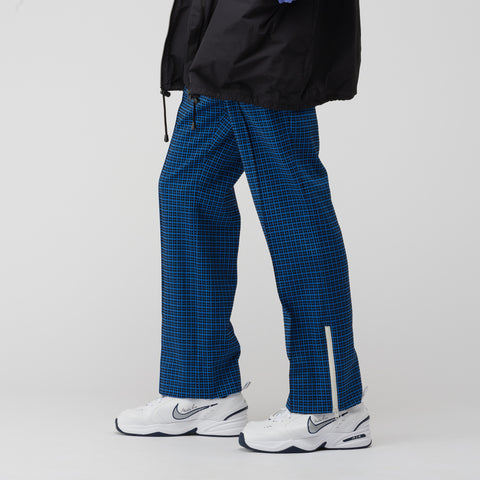 Marni Pattern Trousers in Blue/Black - Notre