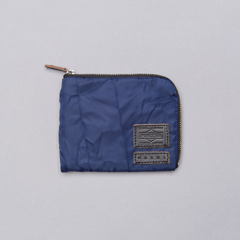 Marni x Head Porter Wallet in Navy/Black - Notre