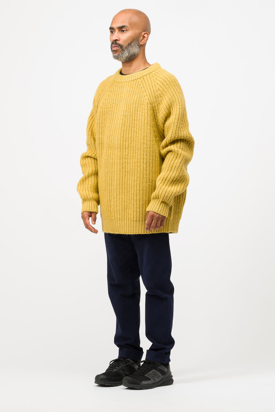 Marni Roundneck Sweater in Yellow - Notre