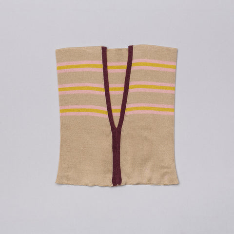 Marni Scarf in Light Beige Multistripe - Notre