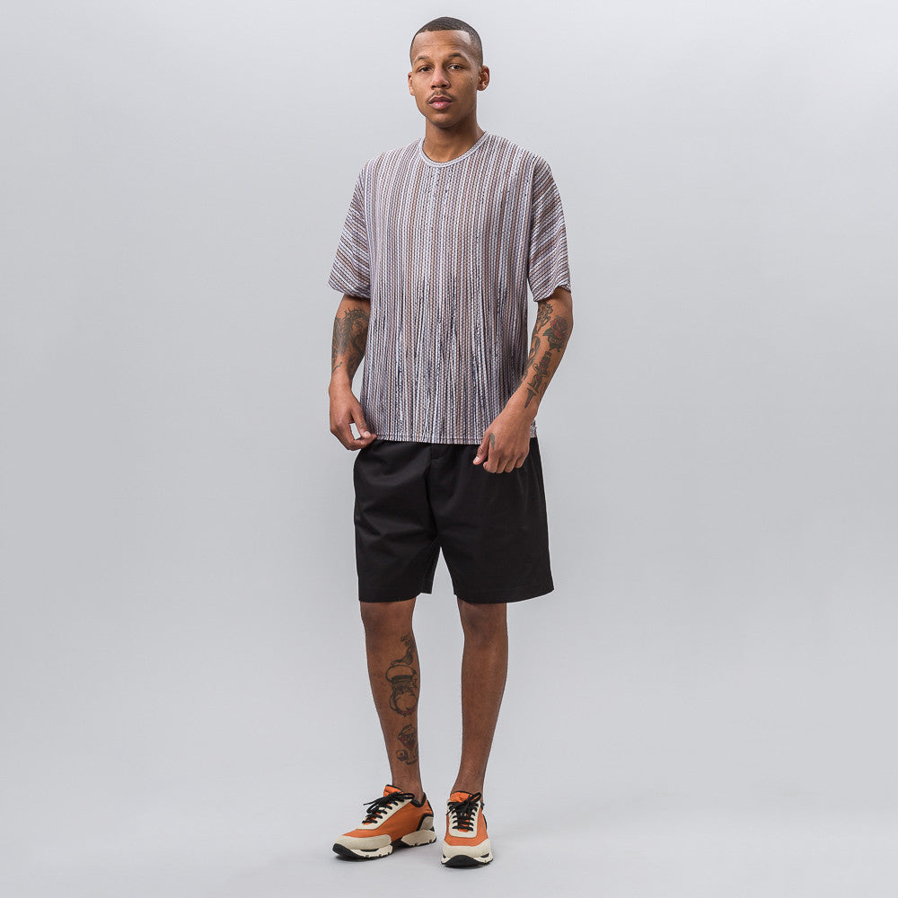 Cotton Twill Short in Black