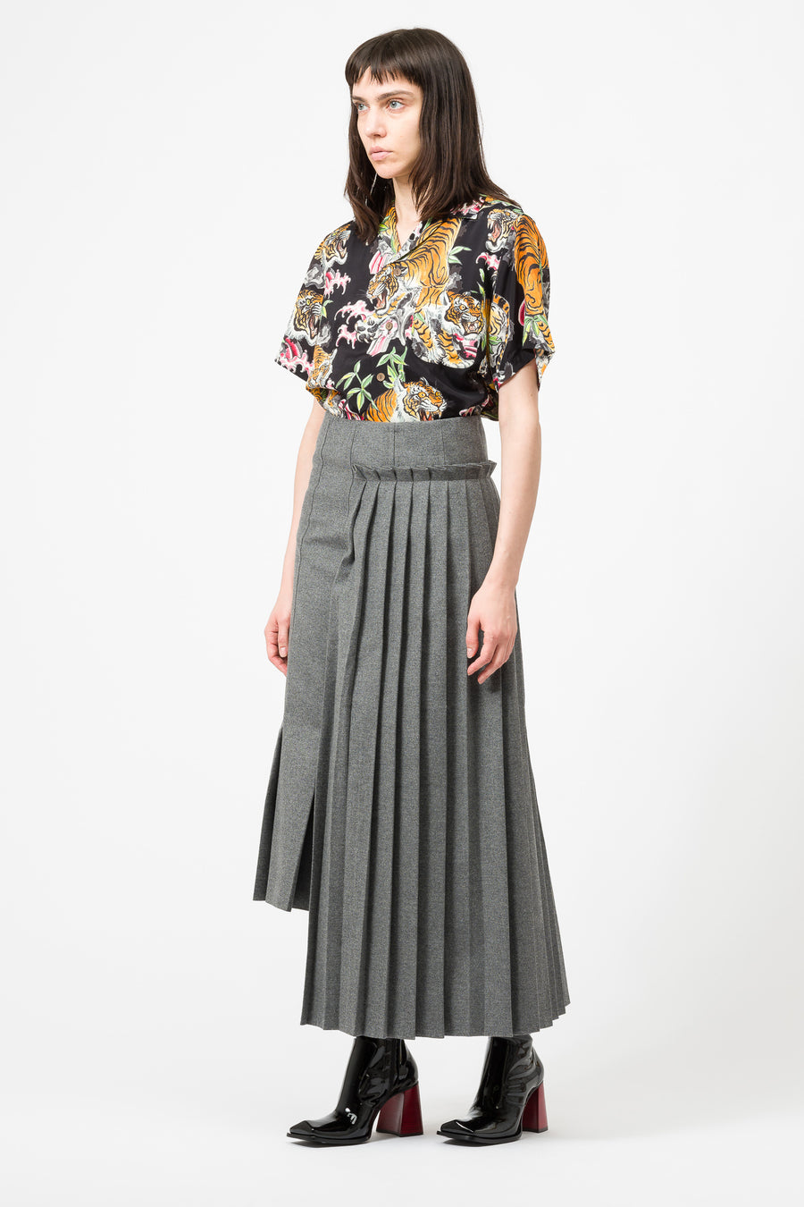 Marni Skirt in Grey - Notre